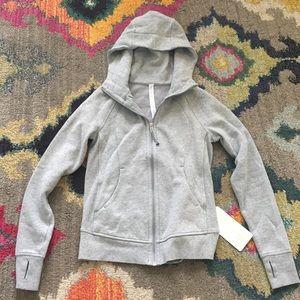 NWT Lululemon gray hoodie